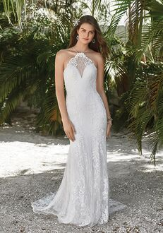 Lillian West 66044 Sheath Wedding Dress