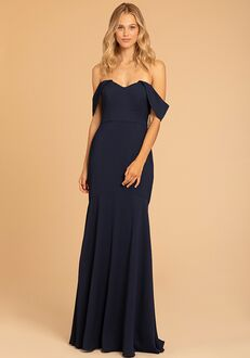 Hayley Paige Occasions 52012 Off the Shoulder Bridesmaid Dress