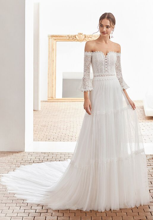Rosa Clará Boheme Aragon Wedding Dress The Knot