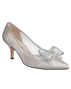 Nina Bridal Bianca_White Diamond Baby Glitter Shoe