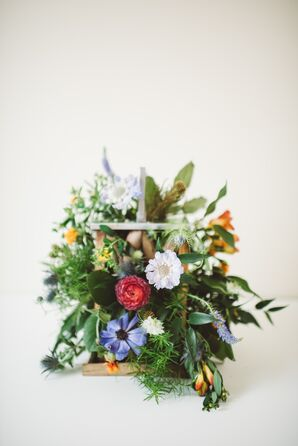 Flower-Filled Lantern Bouquet
