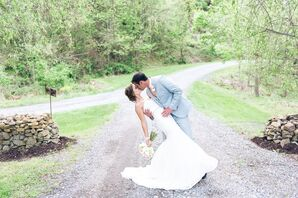 An At-Home Romantic, Rustic Wedding