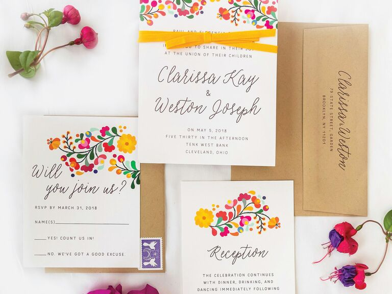 Wording For Invitations Wedding: Wedding Invitation Wording Templates, Tips And Etiquette