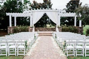 Ceremony with Draping at the Royal Crest Room in St. Cloud, Florida