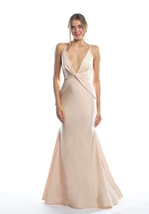 Bari Jay Bridesmaids 2062 V-Neck Bridesmaid Dress
