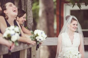 Bride at County Line Orchard