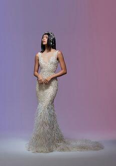 Lazaro Cher/32010 Mermaid Wedding Dress