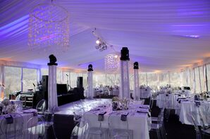 Tented Winter Reception