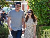 Garrett Hedlund and Emma Roberts in August 2019 in Los Angeles, California