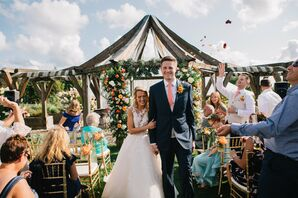 Recessional from Rustic Outdoor Ceremony