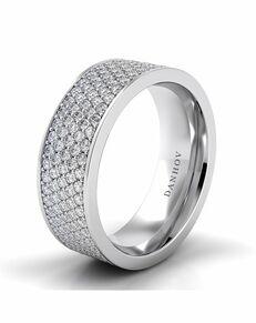 Danhov Classico Band White Gold Wedding Ring