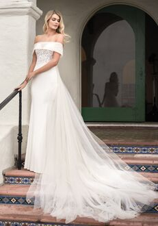 Jasmine Bridal F211052 Mermaid Wedding Dress