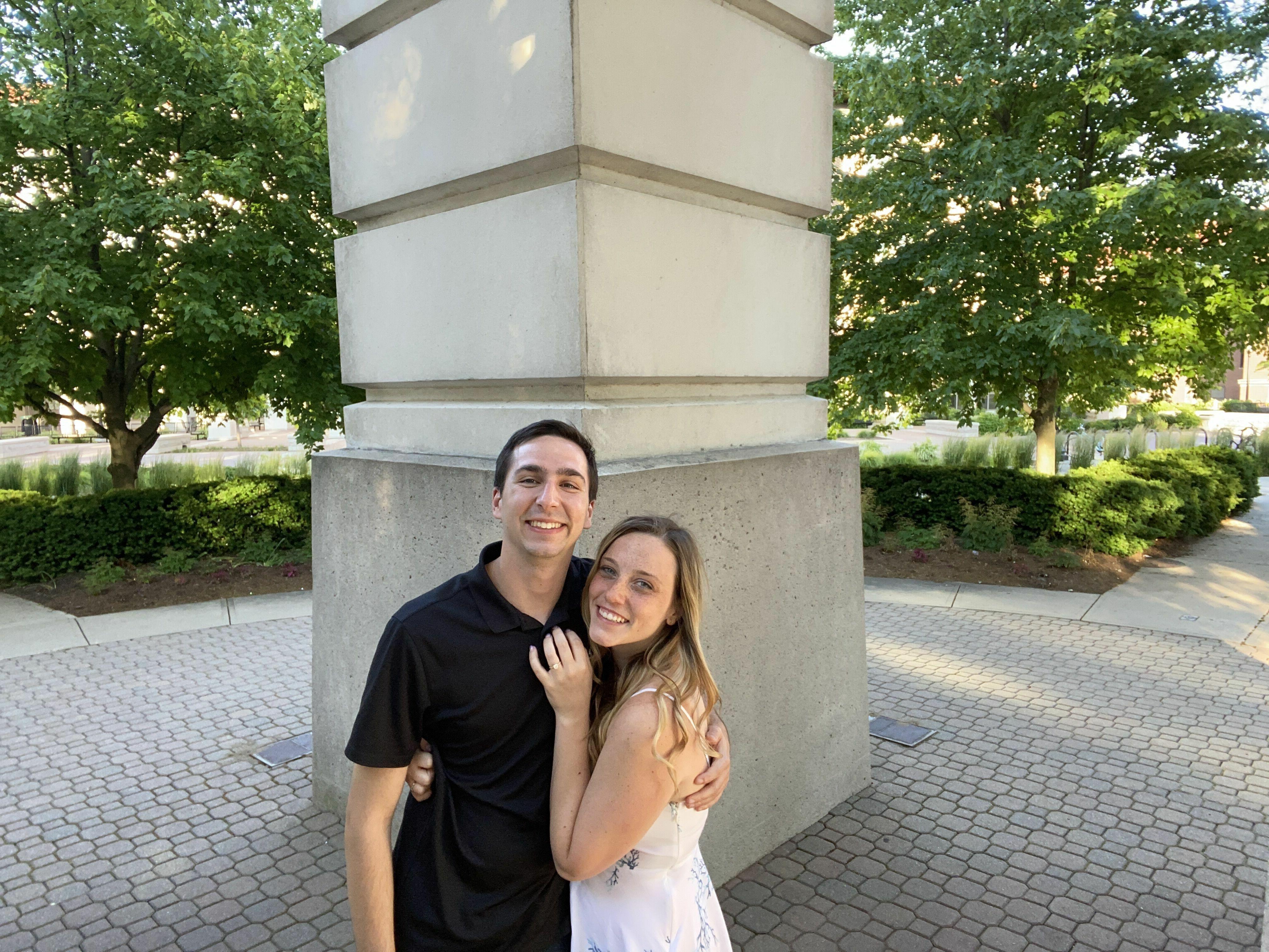 Image 1 of Liz and Luke