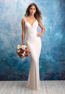 Allure Bridals 9554 Sheath Wedding Dress
