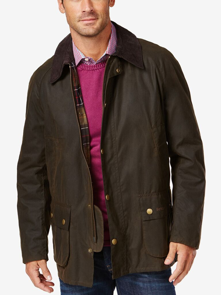 Waxed jacket 16th anniversary gift for him