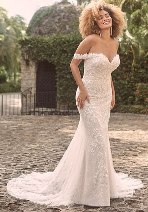 Maggie Sottero CHARMAINE Sheath Wedding Dress