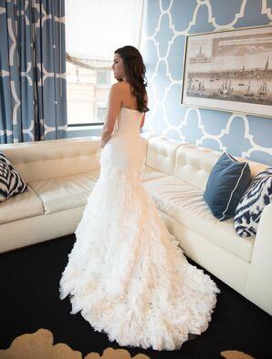 Ruffled Wedding Dress by Enzoani