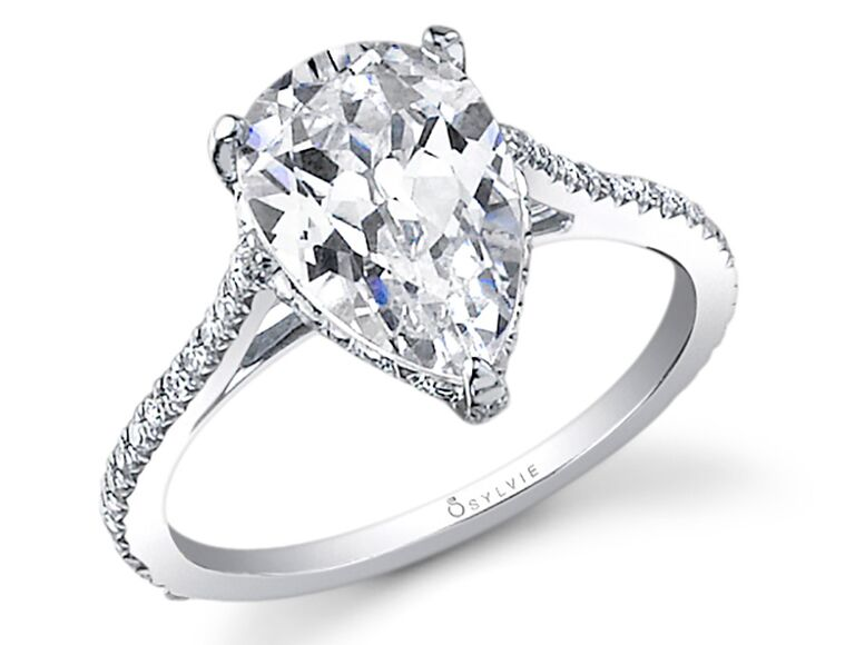 Slyvie Collection engagement ring