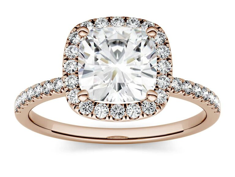 Charles & Colvard engagement ring