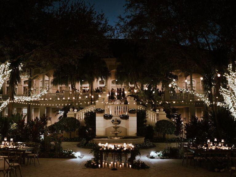 Wedding venue in Naples, Florida.