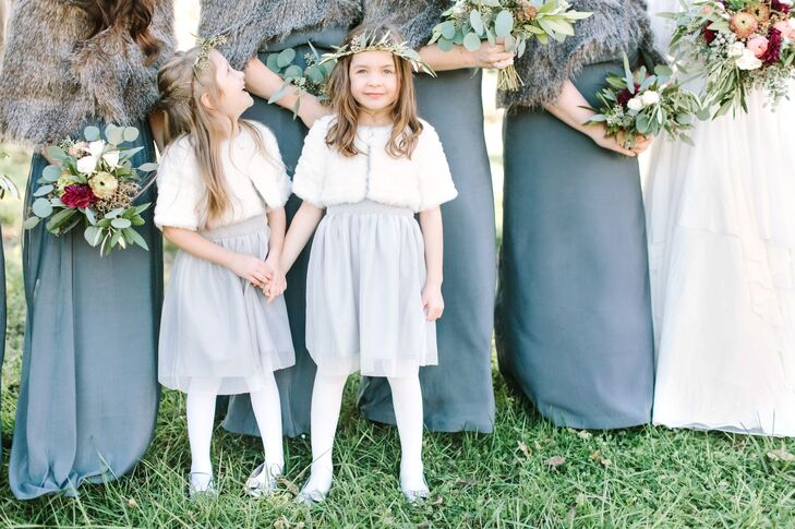 Relying on shades of gray, navy, white and cream, Lydia kept a cool, easy palette that was soothing and elegant.