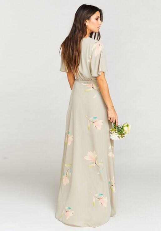 273532ec8b7 Show Me Your Mumu Sophia Wrap Dress - Lily Showers V-Neck Bridesmaid Dress