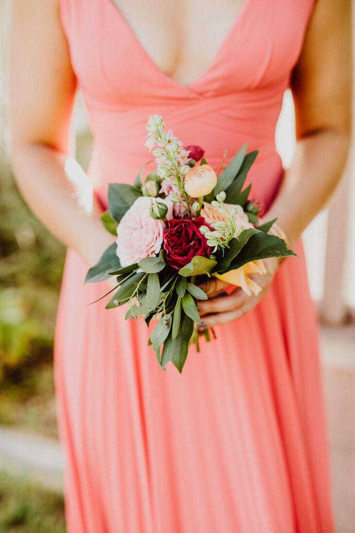 Mini Garden Rose and Ranunculus Bouquet
