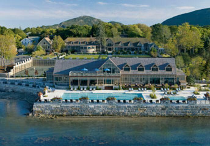 Harborside Hotel Spa And Marina Bar Harbor Me