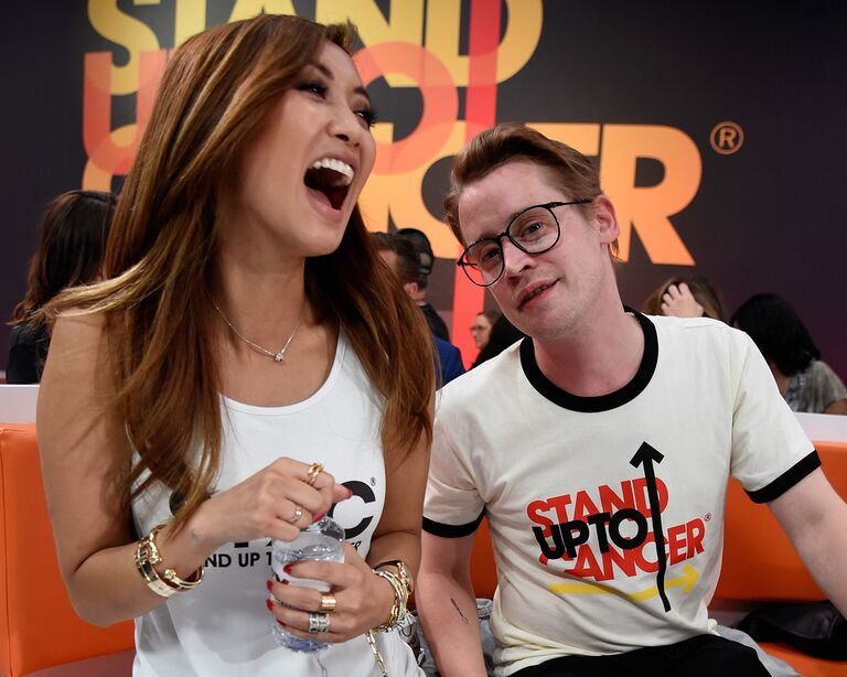 Brenda Song and Macaulay Culkin