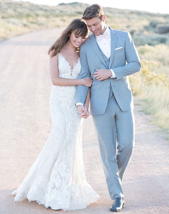 Gray Wedding Tuxedos + Suits