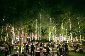 Fairy-Tale Reception Under the Trees