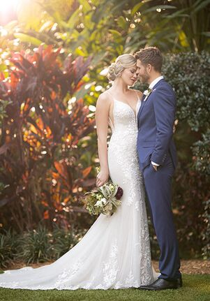 Essense of Australia D3066 Mermaid Wedding Dress