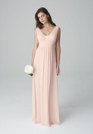 Bill Levkoff 1278 V-Neck Bridesmaid Dress