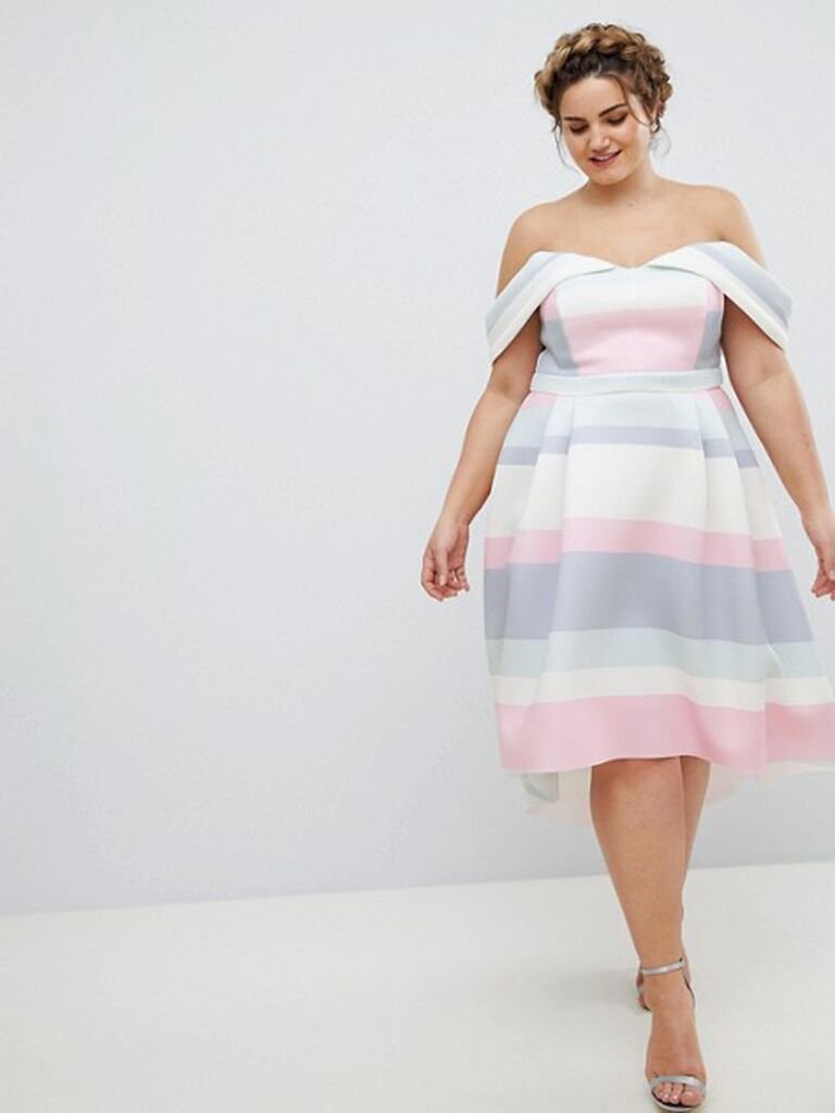 ASOS Curve carla dress what to wear to a spring wedding
