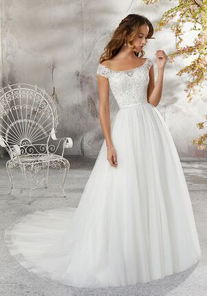 Morilee by Madeline Gardner/Blu 5683 / Leticia Ball Gown Wedding Dress