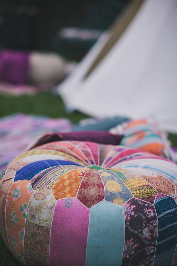 Vintage Patterned Cushions by Backyard Teepee Lounge