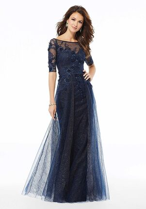 MGNY 72121 Pink,Blue Mother Of The Bride Dress