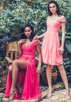 CocoMelody Bridesmaid Dresses PR3536 Off the Shoulder Bridesmaid Dress