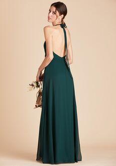 Birdy Grey Moni Convertible Dress in Emerald Halter Bridesmaid Dress