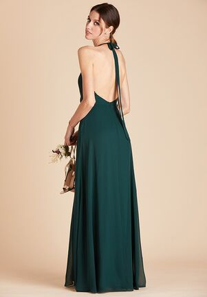 Birdy Grey Moni Convertible Dress in Emerald Halter Bridesmaid Dress