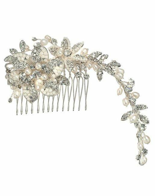 Anna Bellagio Antica Side Comb Pins, Combs + Clip
