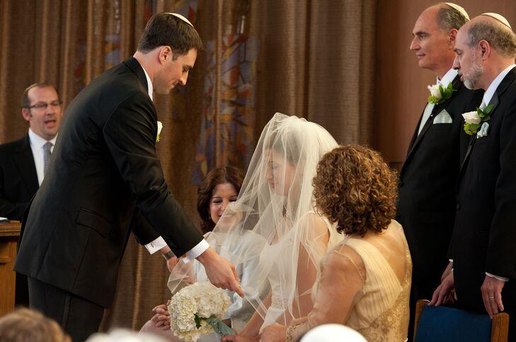 Veil Lift Jewish Wedding Ceremony