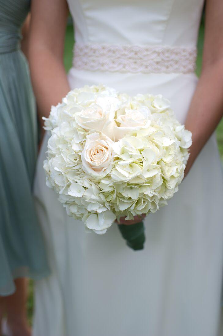 White Rose, Floral Bridal Bouquet