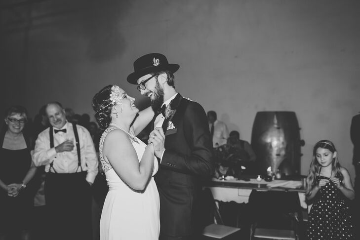 Sara and Michael had their first dance to Baby We're Really In Love by Hank Williams.