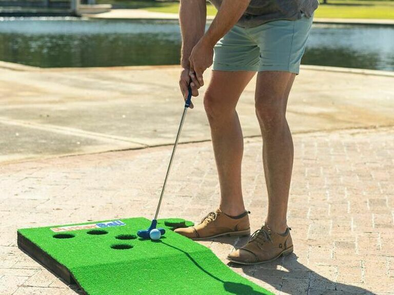 PutterBall golf game fun gift for husband