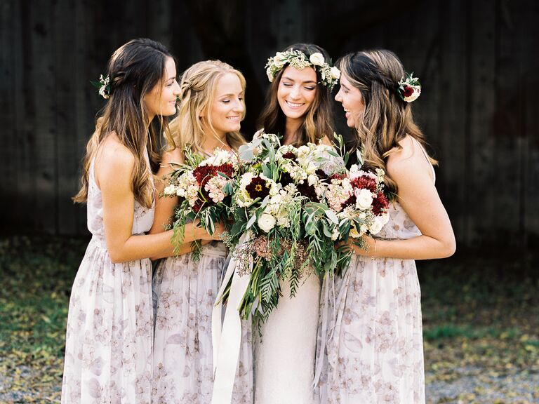 50dab92a75bdb 27 Floral Bridesmaid Dresses to Shop Online Right Now