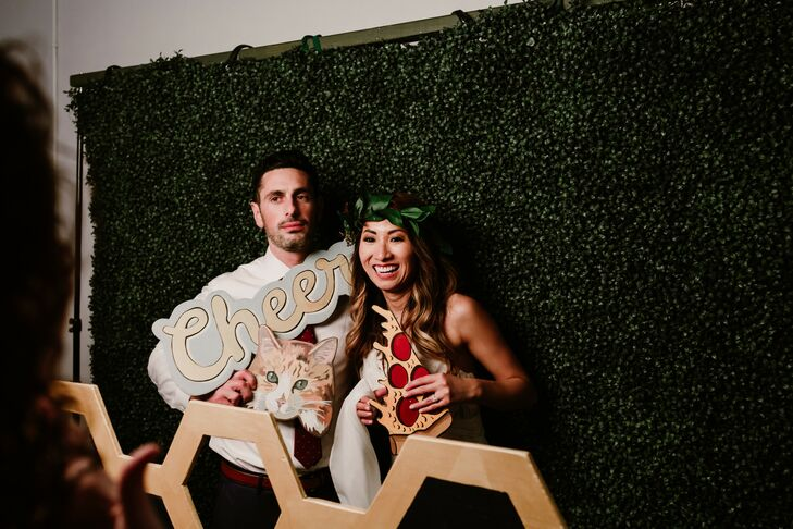 Wedding Photo Booth with Props