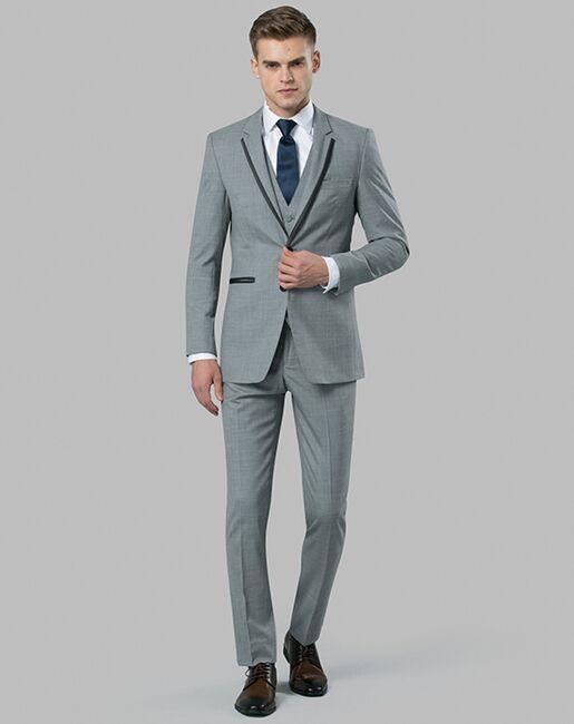 Menguin Light Gray Tuxedo Gray Tuxedo
