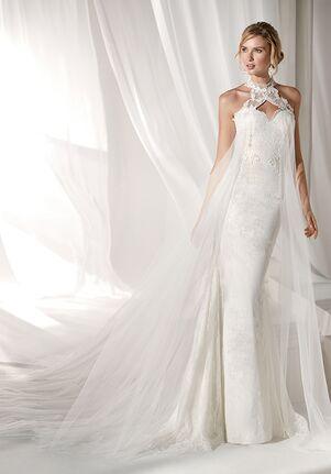 Nicole Milano 2019 Collection NIAB19094 Mermaid Wedding Dress