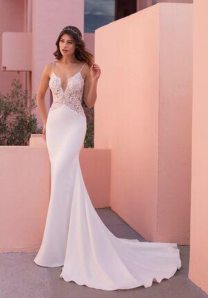 WHITE ONE ESSENTIALS MINT Mermaid Wedding Dress
